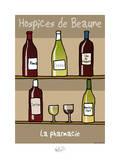 Tipe taupe - Pharmacie des Hospices de Beaune Affiches par Sylvain Bichicchi