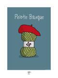 Pays B. - Pelote basque Affiches par Sylvain Bichicchi