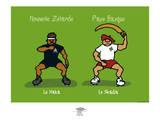 Pays B. - Le Haka basque Poster por Sylvain Bichicchi