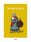 I Lov'ergne - Concours de potée Pósters por Sylvain Bichicchi