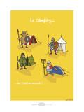 Heula. Camping, une tradition normande Art par Sylvain Bichicchi