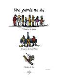 Touchouss - Une journée au ski Pôsters por Sylvain Bichicchi