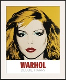 Debbie Harry, 1980 Art by Andy Warhol