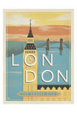 London, the Square Mile Affiches par  Anderson Design Group