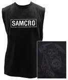 Sons of Anarchy - SAMCRO Sleeveless Tee T-Shirt