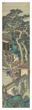 Silk Scroll VI Premium gicléedruk van  Oriental School
