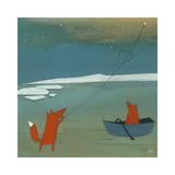 Bring You the North Star Giclée-tryk af Kristiana Pärn
