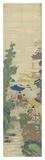 Silk Scroll I Premium gicléedruk van  Oriental School