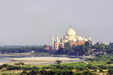 Taj Mahal in Agra Photographic Print by Jorg Hackemann