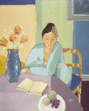 A New Chapter Giclee Print by Mortimer Robinson