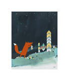 Mr. Fox is Inspired Giclee Print by Kristiana Pärn