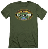 Survivor - Tocantins Logo (slim fit) T-Shirt
