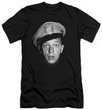 Andy Griffith - Barney Head (slim fit) T-Shirt