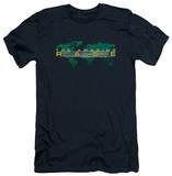 Amazing Race - Around The World (slim fit) T-shirts