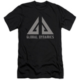 Eureka - Global Dynamics Logo (slim fit) T-Shirt