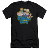 Family Guy - Family Fight (slim fit) T-shirts