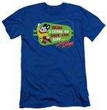 Mighty Mouse - Here I Come (slim fit) T-shirts