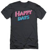 Happy Days - Happy Days Logo (slim fit) Shirt