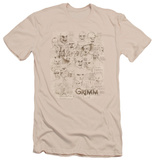Grimm - Wesen Sketches (slim fit) T-shirts