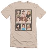 Melrose Place - Season 2 Cast Squared (slim fit) T-shirts