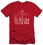The Six Million Dollar Man - Target (slim fit) T-shirts
