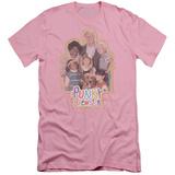Punky Brewster - PB Distressed (slim fit) T-shirts