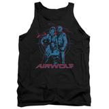 Tank Top: Airwolf - Graphic Tank Top