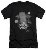 The Twilight Zone - Monologue (slim fit) Shirt
