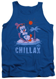 Tank Top: Chilly Willy - Chillax Tank Top