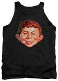 Tank Top: Mad Magazine - Alfred Head Tank Top