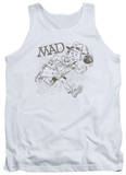 Tank Top: Mad Magazine - Sketch Tank Top