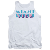 Tank Top: Miami Vice - Logo Tank Top
