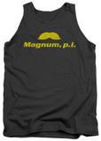 Tank Top: Magnum P.I. - The Stache Tank Top