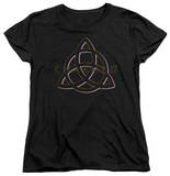 Womens: Charmed - Triple Linked Logo Shirt