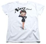 Womens: Betty Boop - Navy Boop T-shirts