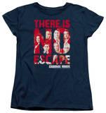 Womens: Criminal Minds - No Escape T-Shirt