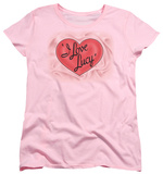 Womens: I Love Lucy - Classic Logo Shirt
