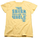 Womens: Jaws - Swallow You Whole T-shirts