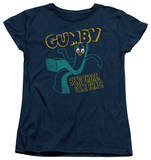 Womens: Gumby - Bend There T-shirts
