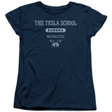 Womens: Eureka - Tesla School Shirts