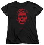 Womens: Dexter - Bloody Face T-Shirt