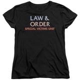 Womens: Law & Order: SVU - Logo T-shirts