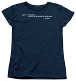 Womens: The Good Wife - Law Offices T-Shirt