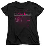 Womens: The Real L Word - Flashy Logo T-Shirt