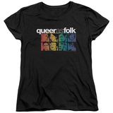 Womens: Queer As Folk - Cast T-shirts