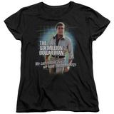 Womens: The Six Million Dollar Man - Technology T-shirts