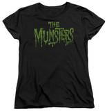 Womens: The Munsters - Distress Logo T-Shirt