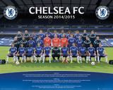 Chelsea Team 14/15 Plakater