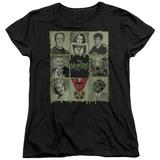 Womens: The Munsters - Blocks T-shirts