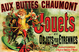 Reclameposter speelgoed, Franse tekst: Jouets Poster